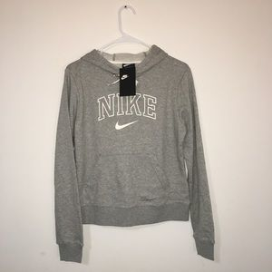 Woman's gray Nike Hoodie size Medium.